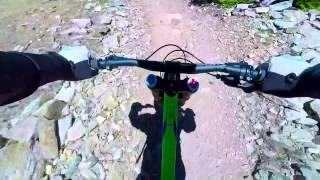 Crushing the trails at Keystone Bike Park in July 2014.
