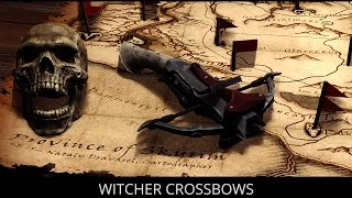 WITCHER INSPIRED - Skyrim Mods - Witcher Crossbows