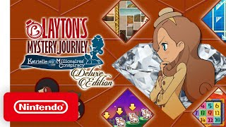 LAYTON'S MYSTERY JOURNEY: Katrielle and the Millionaires' Conspiracy- Deluxe Edition: Launch Trailer