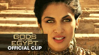 "Gods of Egypt (2016 Movie - Gerard Butler) Official Clip – ""I Command You"""