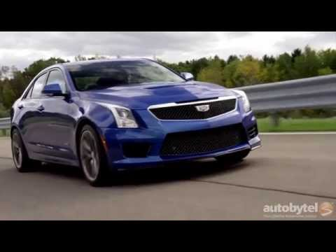 VIDEO: 2016 Cadillac ATS-V Road Test and Review