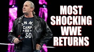 10 Shocking WWE Returns We Thought We