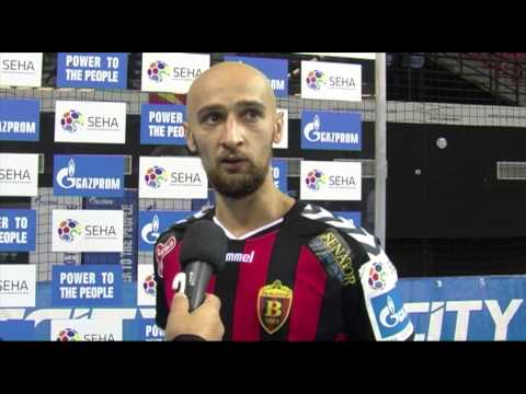 Vardar - Nexe Post Match Interview (09.09.2015. - 15/16)