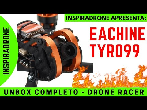 Unbox (FULL) Completo Eachine Tyro99