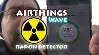 Unboxing AIRTHINGS Wave - Radon Detector