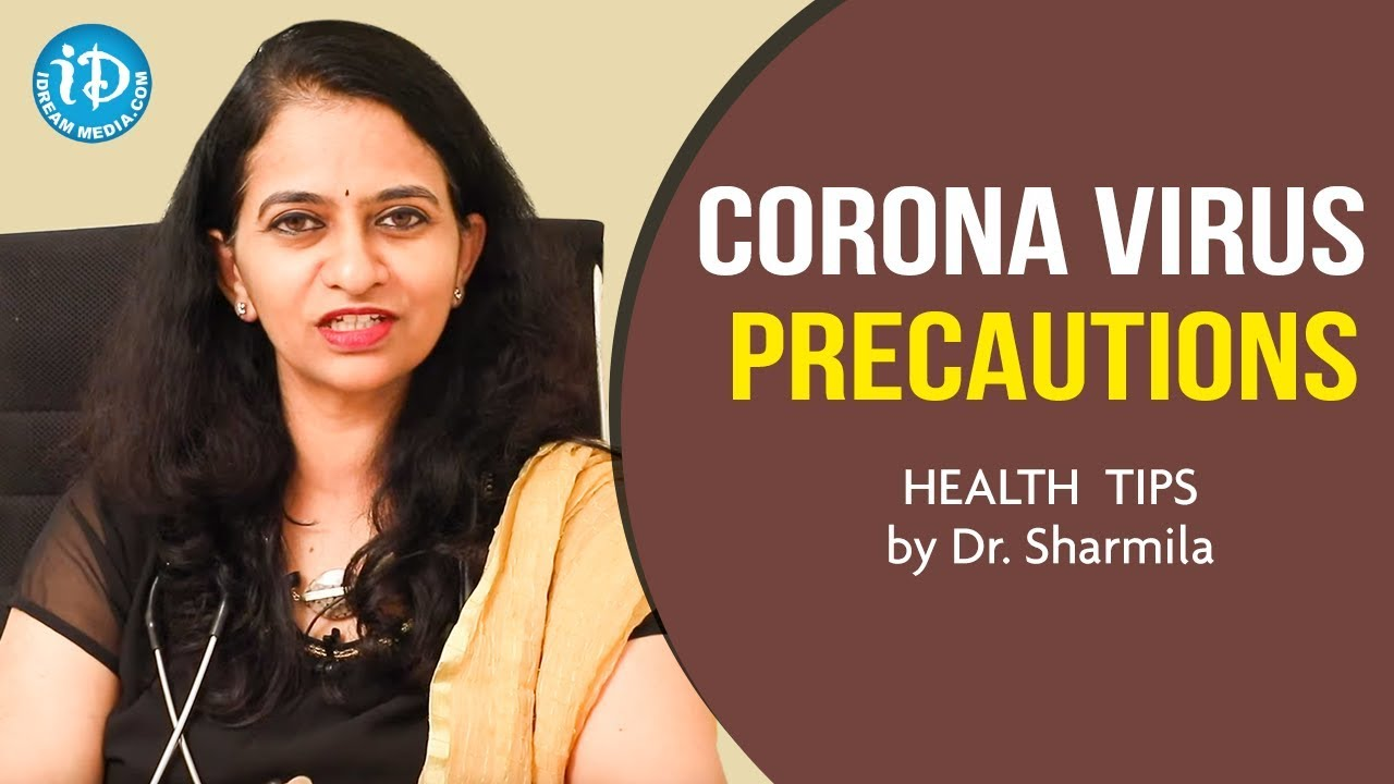 Corona Virus in India Latest Updates, Corona Virus Precautions, Covid 19, Dr Sharmila