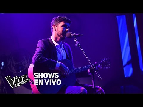 Shows en vivo #TeamSole: Lucas Belbruno canta