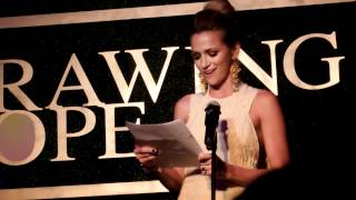 Шантель Вансантен, Shantel VanSanten's Speech at the Drawing Hope gala!