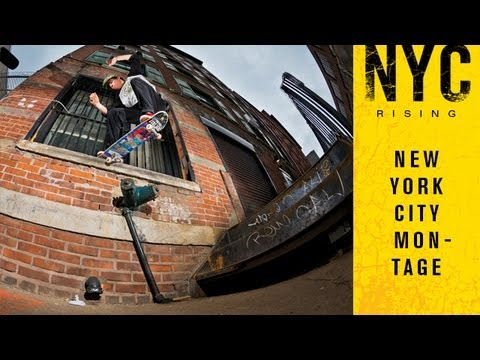 preview image for NYC Rising Montage - TransWorld SKATEboarding