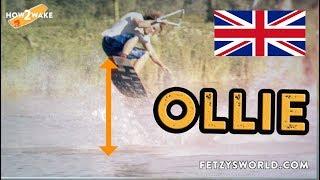 Ollie Wakeboard Tutorial (ENG) Beginner Trick