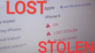 LOST STOLEN AND BLACKLISTED ICLOUD UNLOCK
