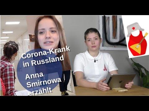 Corona-Krank in Russland: Infizierte Anna Smirnowa erzählt [Video]