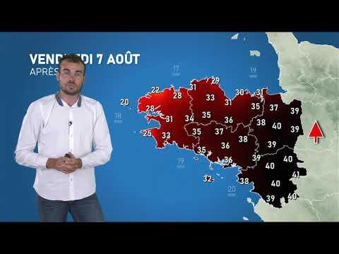 Illustration de l'actualité La météo de votre vendredi 7 août 2020