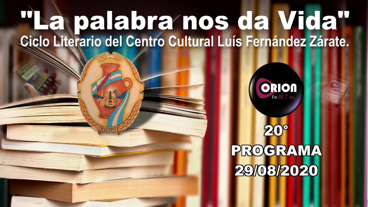 """La palabra nos da Vida"" - 20° programa del sábado 28/08/2020."