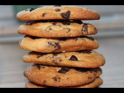 Chocolate Chip Cookies (Rezept)    Baking Chocolate Chip Cookies (Recipe)    [ENG SUBS]