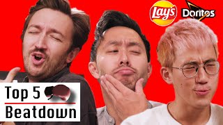 Famous Internet Food Eater Ranks Top 5 Chips • Top 5 Beatdown