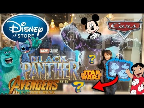 Shopping For TOYS At The MAGICAL DISNEY STORE!! Inside TOUR! MARVEL, CARS, STAR WARS, & MORE!