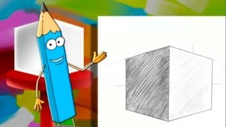 Смотреть онлайн Урок рисования для детей от 3-х до 5-и лет