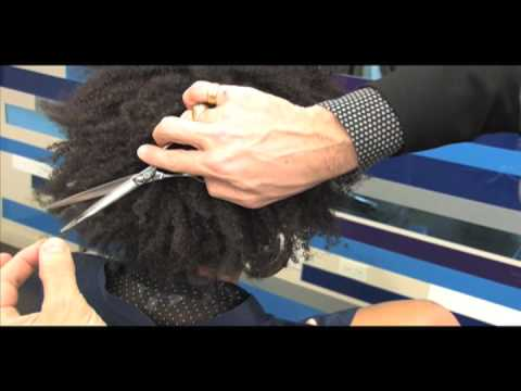 Cutler/Redken howto and Style, Dean Holcombe curly freehand video com