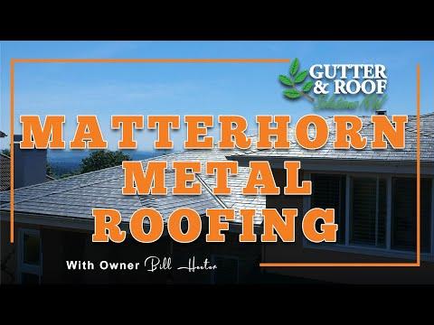 Bellevue Roofing Company - Matterhorn Metal Roofing