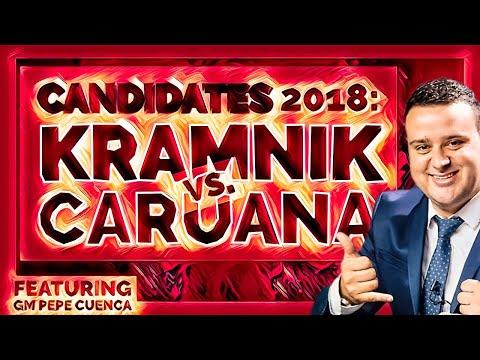 Candidates 2018: Kramnik vs. Caruana   Insane in the Endgame - GM Pepe Cuenca
