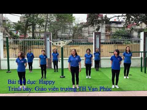 [Bài nhảy] HAPPY - Giáo viên Trường Tiểu học Vạn Phúc