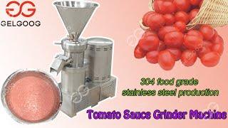 (2.Best tomato sauce grinder high yield sauce making machine youtube video