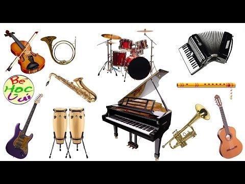 Dạy trẻ nhận biết âm thanh các loại nhạc cụ