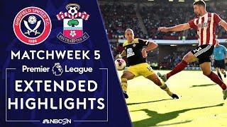 Sheffield United v. Southampton | PREMIER LEAGUE HIGHLIGHTS | 9/14/19 | NBC Sports