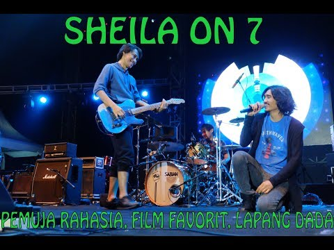 Sheila On 7 - Pemuja Rahasia, Film Favorit, Lapang Dada Live At Moonzher Cup VIII 2018 - Event Saurus