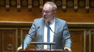 Mon intervention du 20 juin sur la mise en place d'une convention internationale entre la France