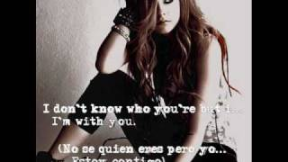 Avril Lavigne - I'm With You (Sub. Inglés Y Español)