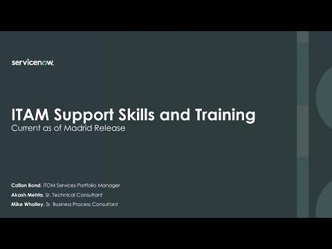 ITAM Support Skills and Training - YouTube
