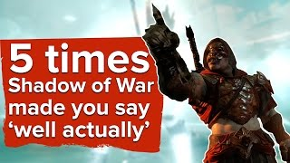 "5 ""I Think You'll Find"" Moments from Shadow of War"