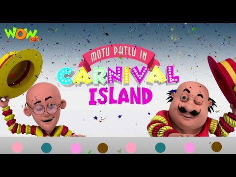 Motu Patlu In Carnival Island | Motu Patlu Movie | WITH ENGLISH, SPANISH & FRENCH SUBTITLES! | Nick