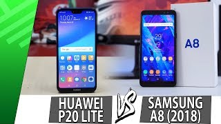 Huawei P20 Lite VS Samsung A8 (2018)   Enfrentamiento   Review   Unboxing