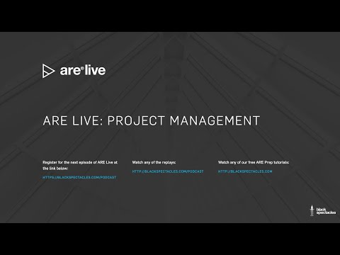 ARE Live: Project Management Mock Exam - 2020 - YouTube