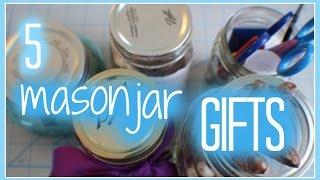 5 Mason Jar Gifts