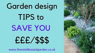 Small Garden Design Ideas on a Budget - tips from top garden designers!