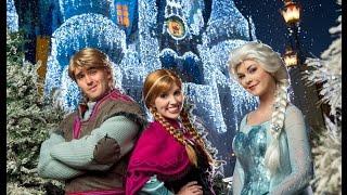 Disney Parks Frozen Christmas Celebration Parade 2014