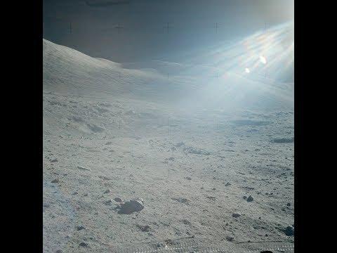Hiërogliefen / rotstekeningen gevonden op de maan