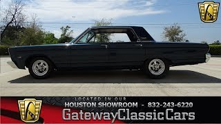 1966 Plymouth Fury Gateway Classic Cars #1160 Houston Showroom