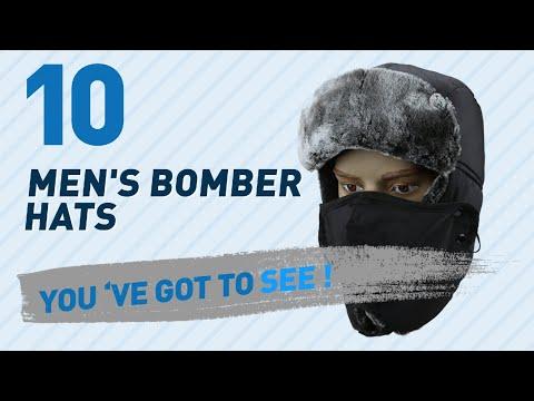 Top 10 Men'S Bomber Hats // UK New & Popular 2017