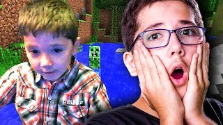13 YEAR OLD JACOB REACTS TO OLD VIDEOS! | Minecraft with Jacob Funny Moments