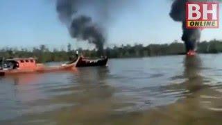 Pesawat TUDM Mendarat Cemas Di Kuala Selangor