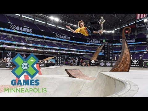 Tom Schaar wins Skateboard Park silver   X Games Minneapolis 2017