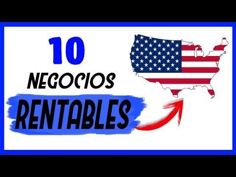 Los 10 Negocios Más Rentables en ESTADOS UNIDOS 💡 [IDEAS INNOVADORAS]