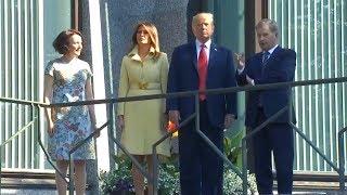 President Trump meeting with Finnish president in Helsinki, Finland. July 16, 2018.
