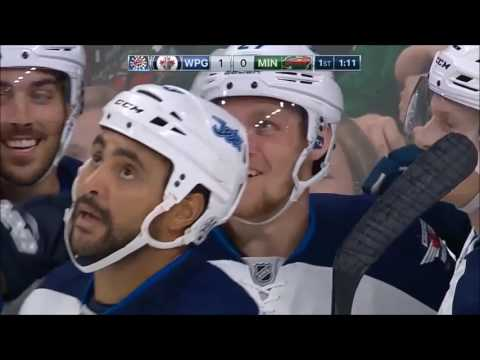 Top 10 Winnipeg Jets Goals 2016-17 Season