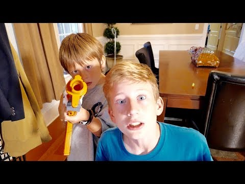 Nerf War: The Battle with the Flying Creepy Clown - Finale